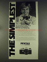 1977 Pentax ME Camera Ad - You Can Learn