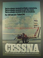 1977 Cessna Airplane Ad - You've Always Wanted