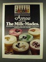 1977 Arrow Liquors Ad - The Milk-Mades
