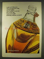 1977 Pinch Scotch Ad - Look At It This Way