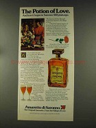 1977 Amaretto di Saronno Ad - The Potion of Love