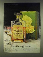 1977 Amaretto di Saronno Ad - Twas the Night After