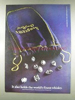 1977 Seagram's Crown Royal Ad - Holds World's Finest