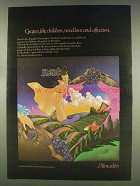 1977 Almaden Wine Ad - Grapes need Love and Affection