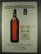 1977 B&G Bordeaux Red Wine Ad - Buy by the Label