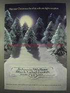 1977 Johnnie Walker Black Label Scotch Ad - Christmases