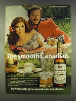 1977 Windsor Canadian Whisky Ad - Smooth