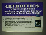 1977 Arthritis Strength Bufferin Ad - More Help
