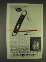 1977 Case Pocket Knives Ad - The Knife is Still Around