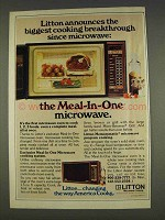 1977 Litton Meal-In-One Microwave Oven Ad