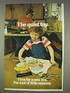 1977 Crayola Crayons Ad - The Quiet Toy