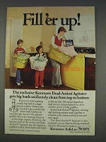 1977 Sears Kenmore Washer Ad - Fill'er Up