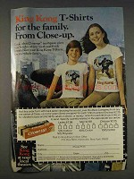 1977 Close-Up Toothpaste Ad - King Kong T-Shirts