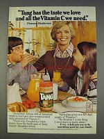1977 Tang Drink Ad - Florence Henderson
