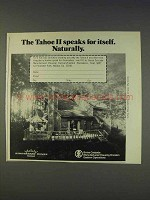 1977 Boise Cascade Kingsberry Homes Tahoe II Ad