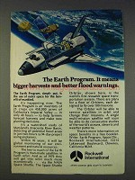 1977 Rockwell International Ad - Earth Program