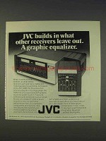 1977 JVC S300 Receiver Ad - A Graphic Equalizer