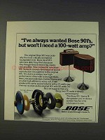 1977 Bose 901 Series III Speakers Ad - Always Wanted