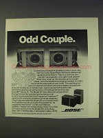 1977 Bose Model 301 Direct/Reflecting Speakers Ad - Odd