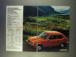 1977 Honda Civic 1200 Sedan Ad - All Standard