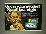 1977 Nytol Medicine Ad - Guess Who Needed