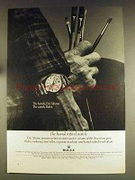 1976 Rolex Oyster Superlative Chronometer (1002/202) Ad