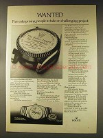 1976 Rolex Oyster Perpetual Day-Date Watch Ad