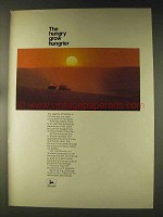1976 John Deere Tractors Ad - The Hungry Grow Hungrier