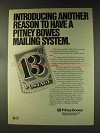 1976 Pitney Bowes Postage Scales and Postage Meters Ad