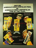 1976 Bic Pens Ad - America's Most Popular