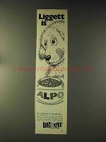 1976 Liggett Group Alpo Dog Food Ad