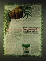 1976 Scotts Turf Builder Plus Halts Ad - Crabgrass