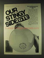 1976 GTE Sylvania Light Bulbs Ad - Our Stingy Side