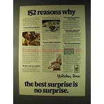 1976 Holiday Inn Ad - 152 Reasons Why