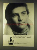 1976 Prince Matchabelli Wind Song Perfume Ad