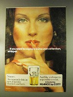1976 Coty Nuance Perfume Ad - Capture Attention