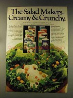1976 Hidden Valley Dressing and Salad Crispins Ad