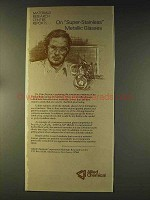 1976 Allied Chemical Ad - Metallic Glasses