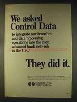 1976 Control Data Corporation Computers Ad - Barclays