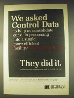 1976 Control Data Computers Ad - Ramsey County