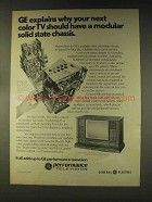 1976 General Electric Televisions Ad - Next Color TV