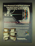 1976 Panasonic Televisions Ad - Sharpest, Brightest