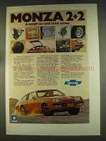 1976 Chevy Monza 2+2 Ad - And Then Some