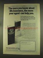 1976 The Bankers Life Insurance Ad - More You Know