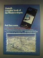 1976 United Airlines Ad - Book of Western Slopes