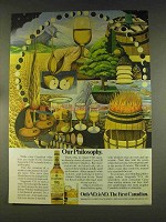 1976 Seagram's V.O. Whisky Ad - Our Philosophy