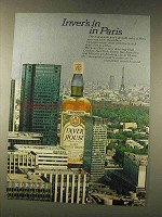 1976 Inver House Scotch Ad - In In Paris