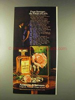 1976 Amaretto di Saronno Ad - Potion of Love
