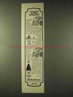 1976 Sebastiani Vineyards Ad - Creation