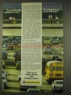 1976 Caterpillar Tractor Co. Ad - Freeways Smother City